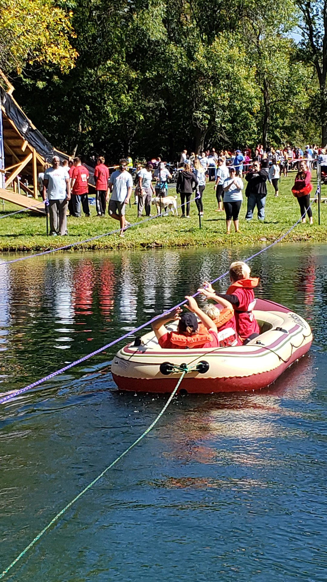 Participants Boating