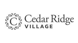 Cedar Ridge Village sponsor logo